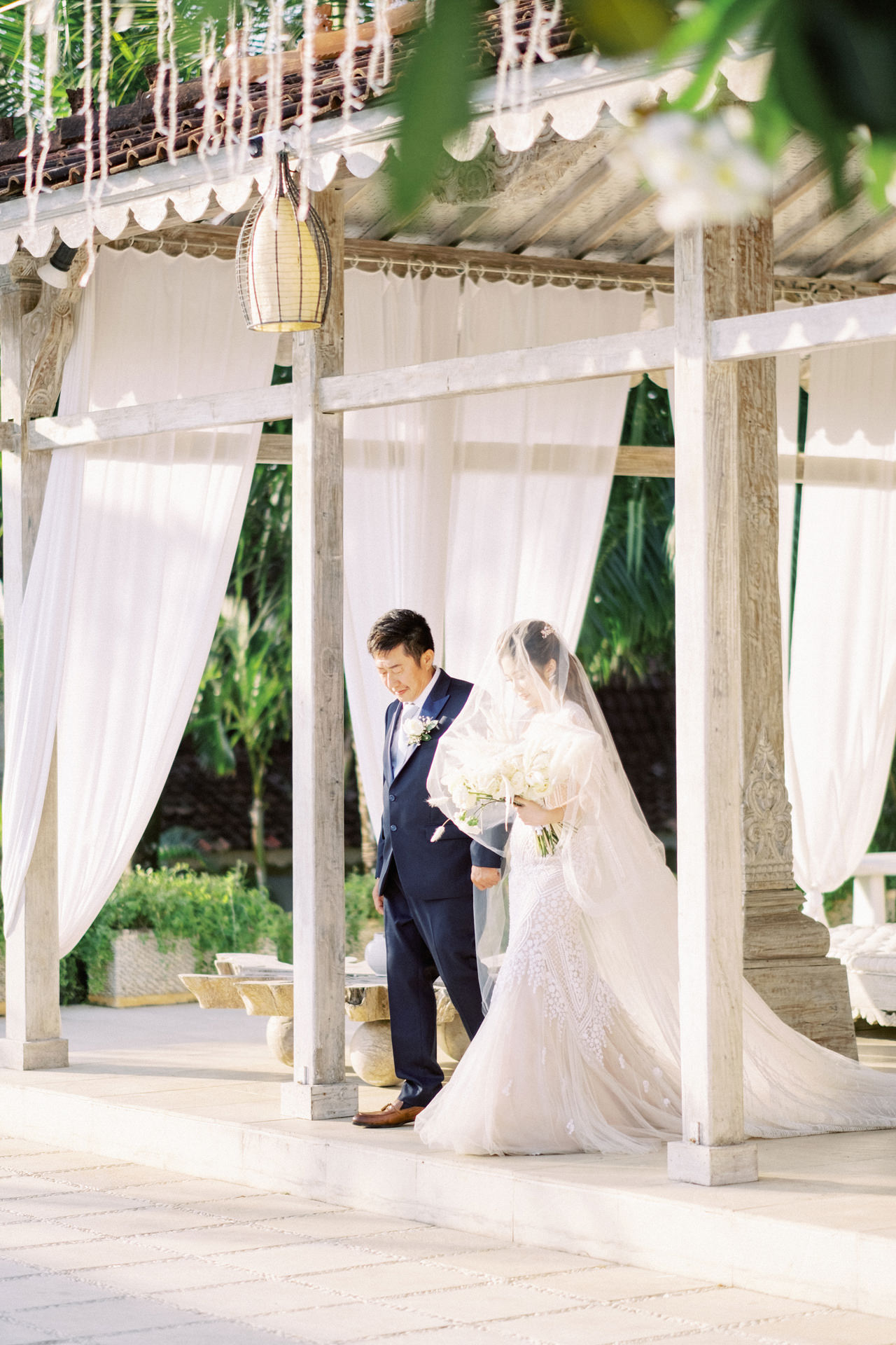 M&S: Shades of Blue Villa Plenilunio Bali Wedding 58