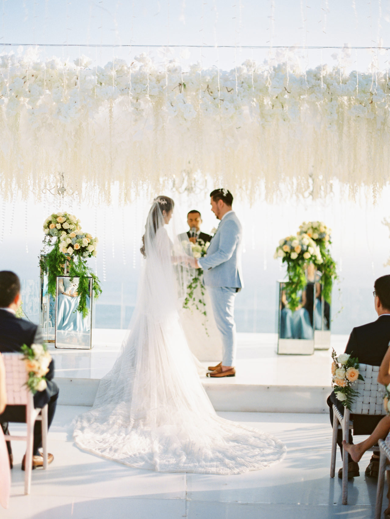 M&S: Shades of Blue Villa Plenilunio Bali Wedding 60
