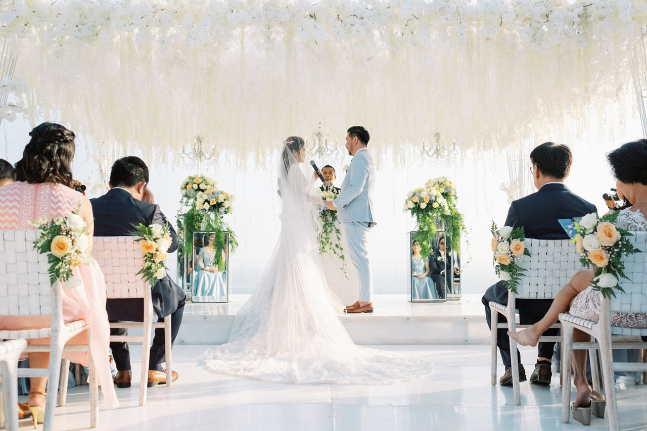 M&S: Shades of Blue Villa Plenilunio Bali Wedding 63