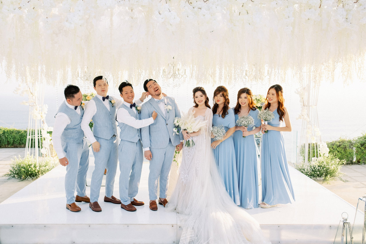 M&S: Shades of Blue Villa Plenilunio Bali Wedding 68