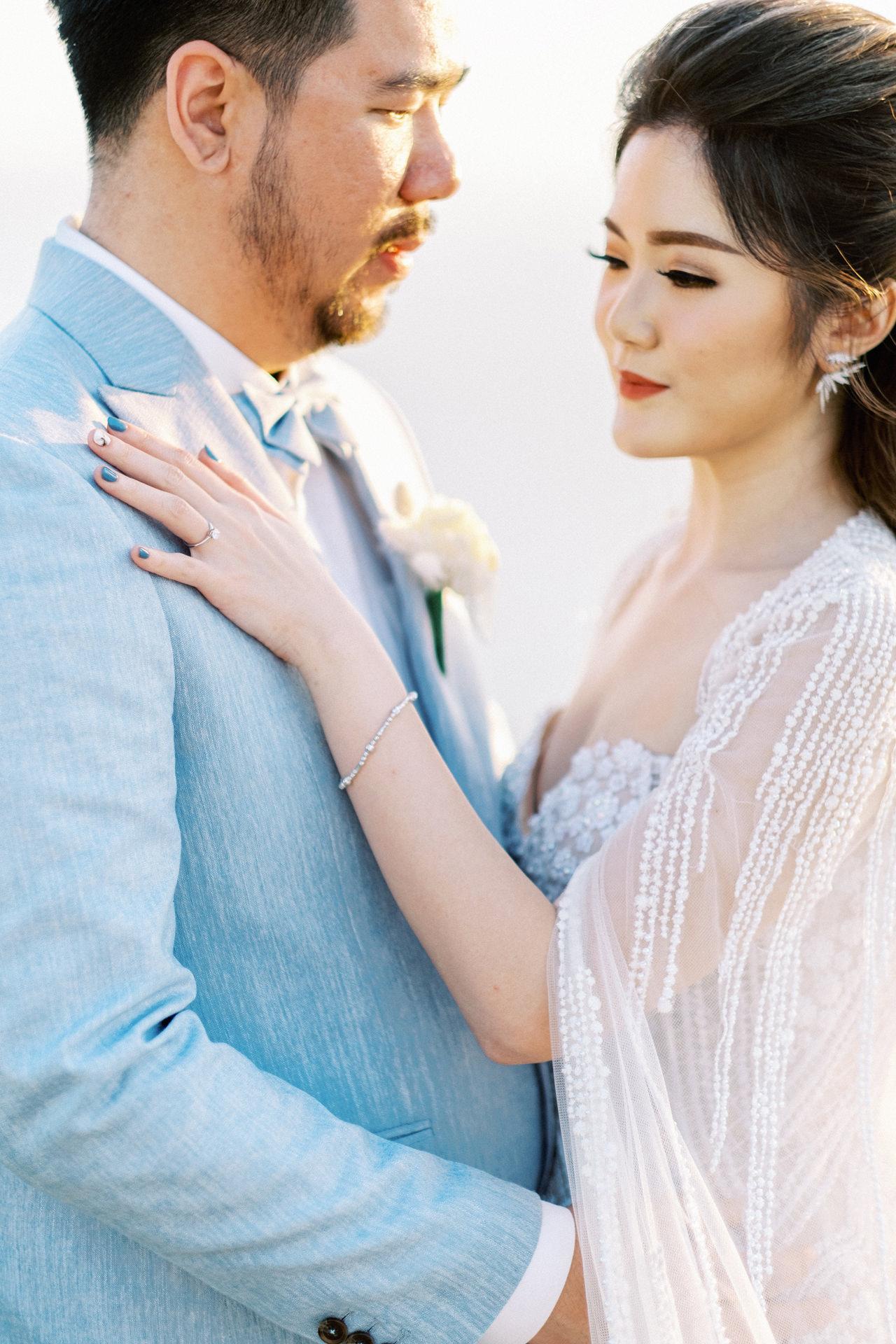 M&S: Shades of Blue Villa Plenilunio Bali Wedding 71