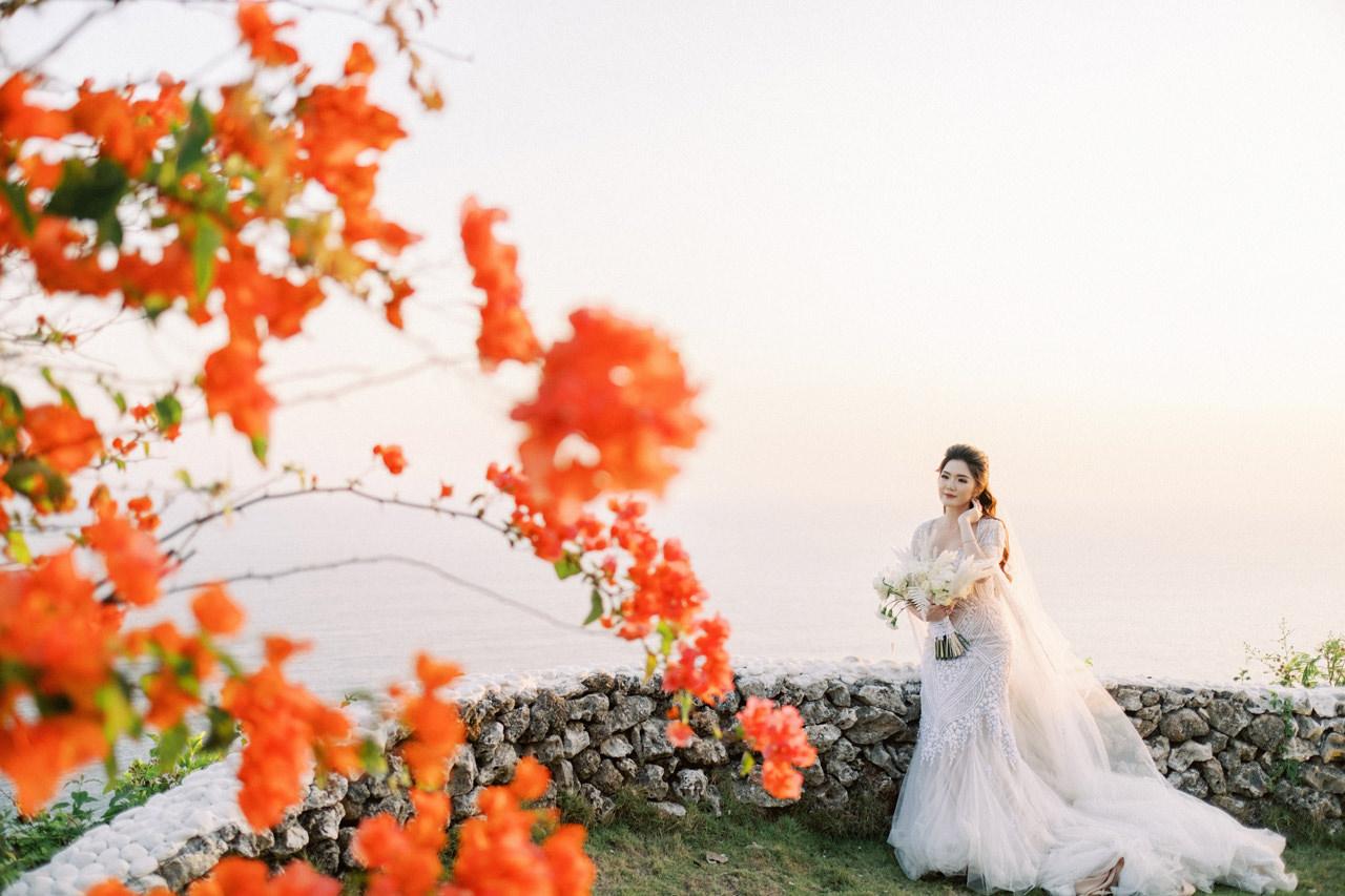 M&S: Shades of Blue Villa Plenilunio Bali Wedding 79