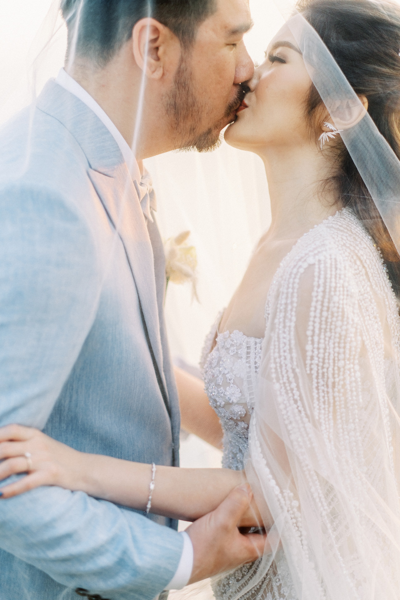 M&S: Shades of Blue Villa Plenilunio Bali Wedding 84