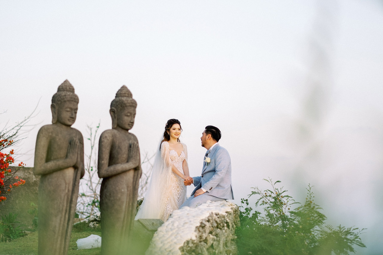 M&S: Shades of Blue Villa Plenilunio Bali Wedding 87