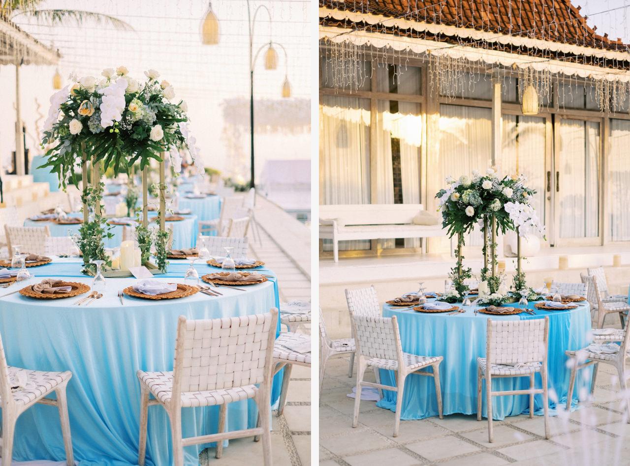 M&S: Shades of Blue Villa Plenilunio Bali Wedding 89