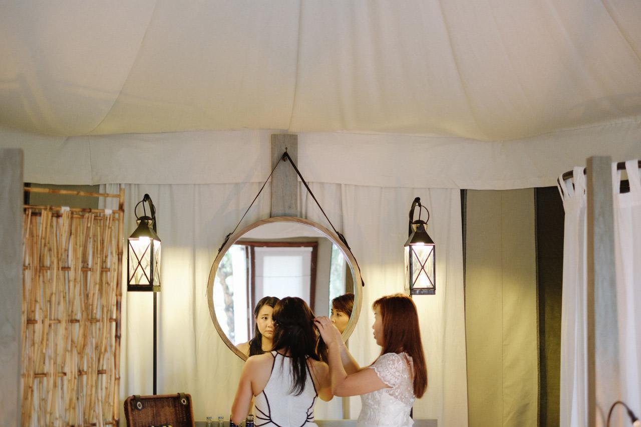 M&V: Sunset Beach Wedding Photography at The Menjangan Dynasty Resort 9