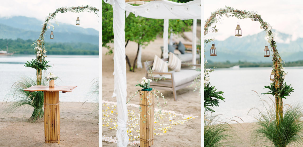 M&V: Sunset Beach Wedding Photography at The Menjangan Dynasty Resort 13