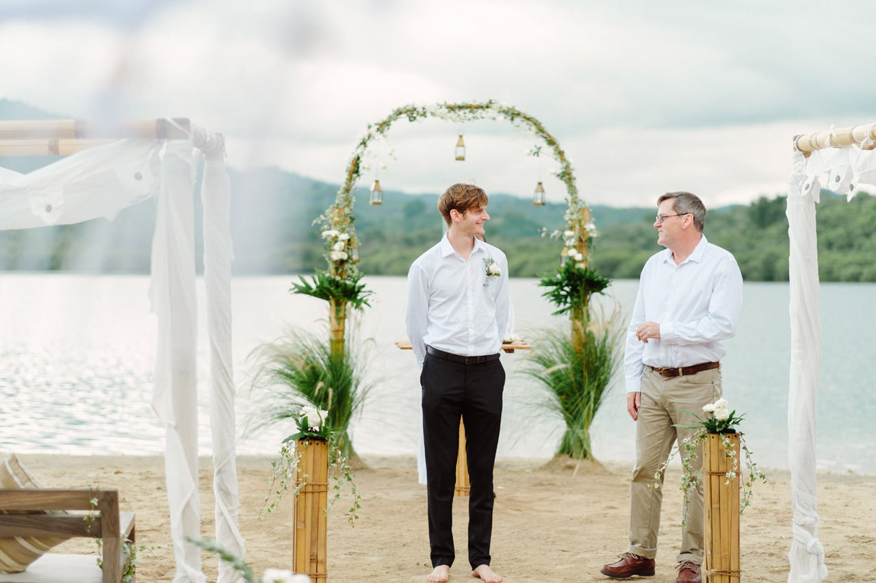 M&V: Sunset Beach Wedding Photography at The Menjangan Dynasty Resort 17