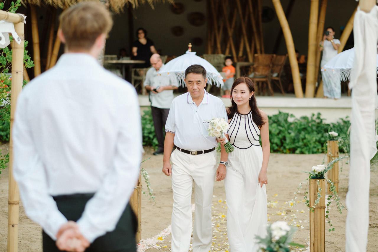 M&V: Sunset Beach Wedding Photography at The Menjangan Dynasty Resort 20