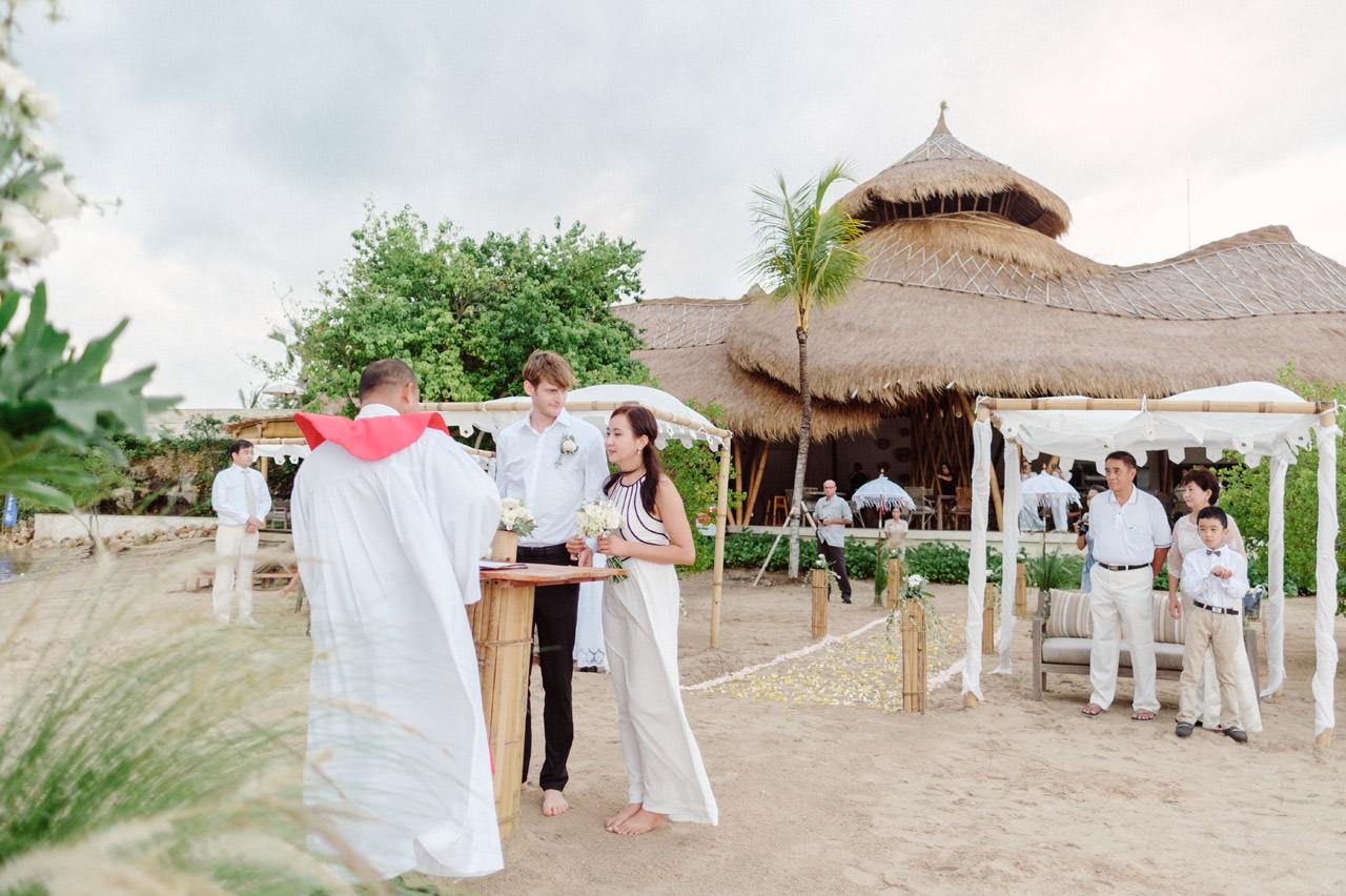 M&V: Sunset Beach Wedding Photography at The Menjangan Dynasty Resort 23