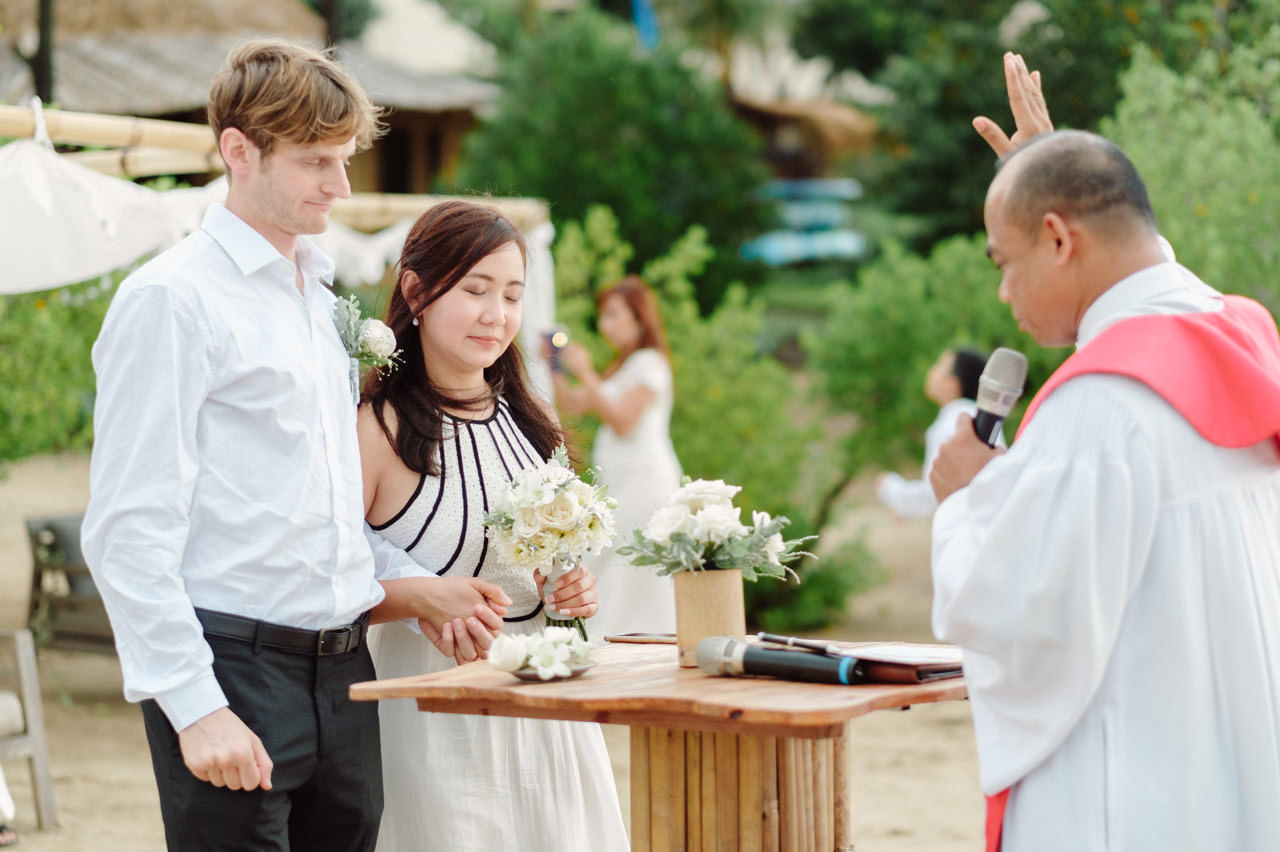 M&V: Sunset Beach Wedding Photography at The Menjangan Dynasty Resort 24