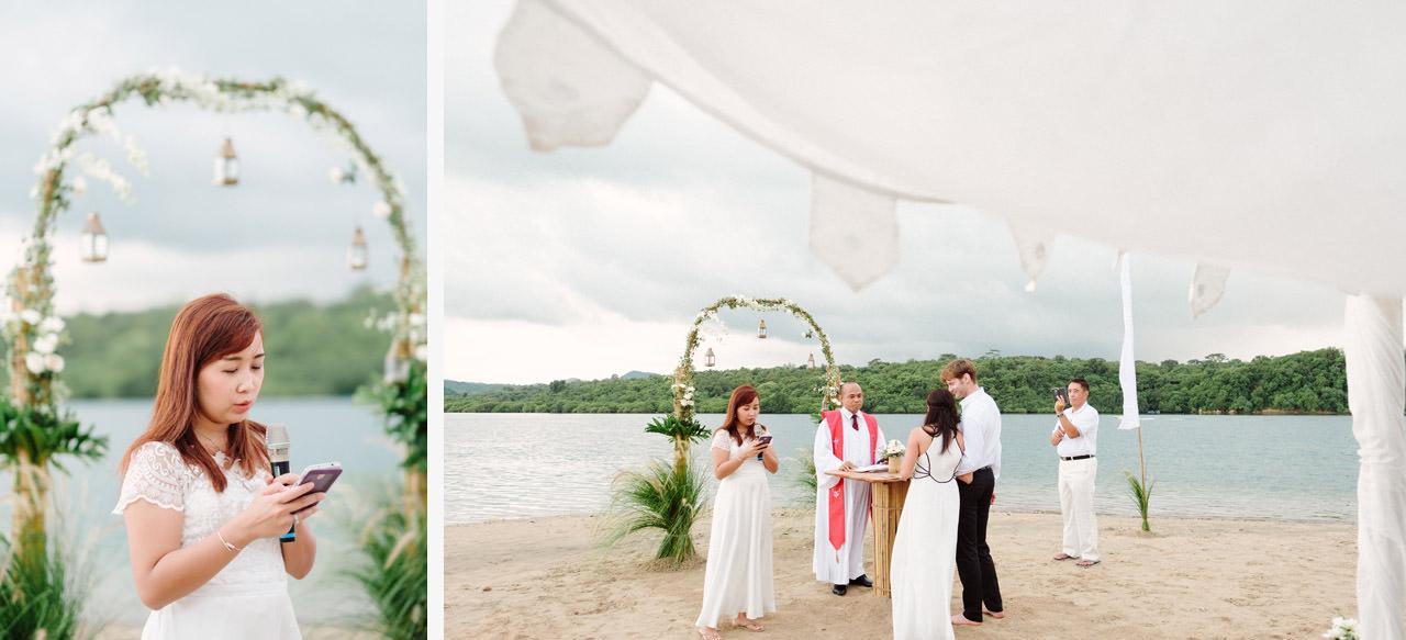 M&V: Sunset Beach Wedding Photography at The Menjangan Dynasty Resort 28