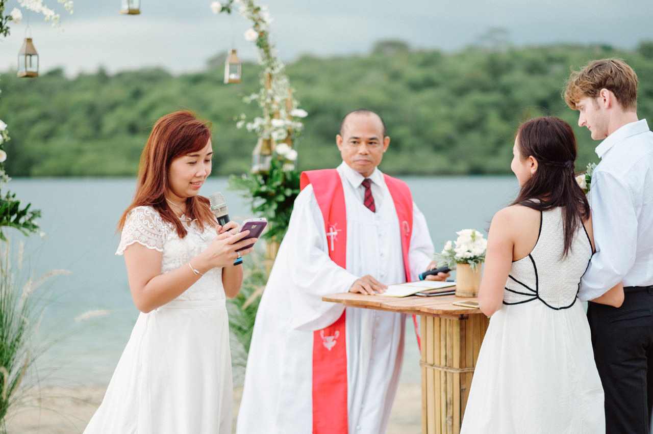 M&V: Sunset Beach Wedding Photography at The Menjangan Dynasty Resort 29