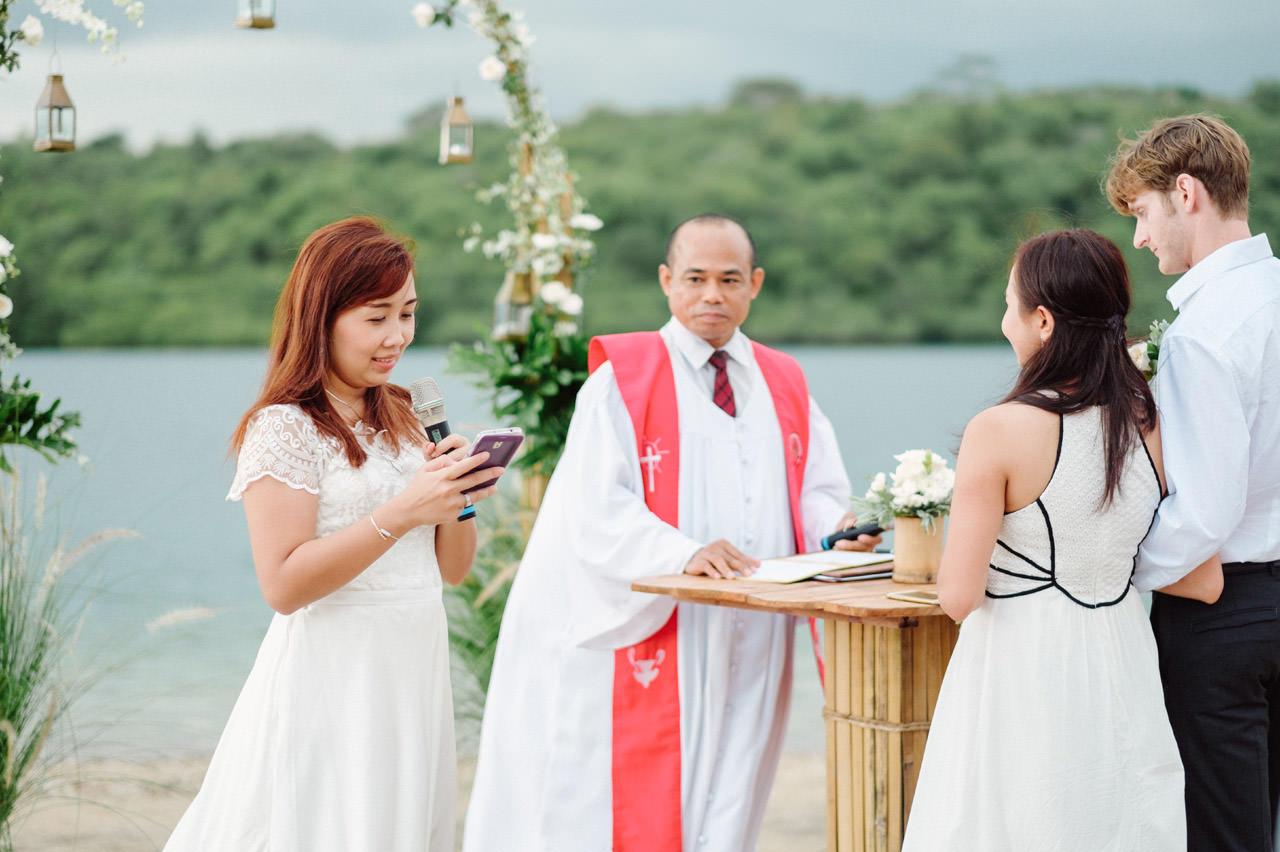 M&V: Sunset Beach Wedding Photography at The Menjangan Dynasty Resort 29