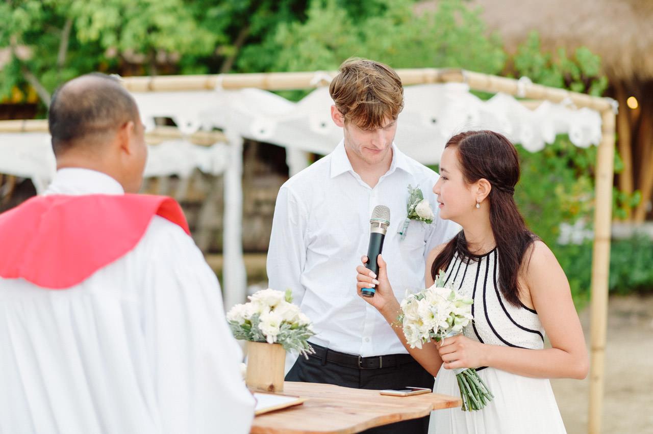 M&V: Sunset Beach Wedding Photography at The Menjangan Dynasty Resort 32