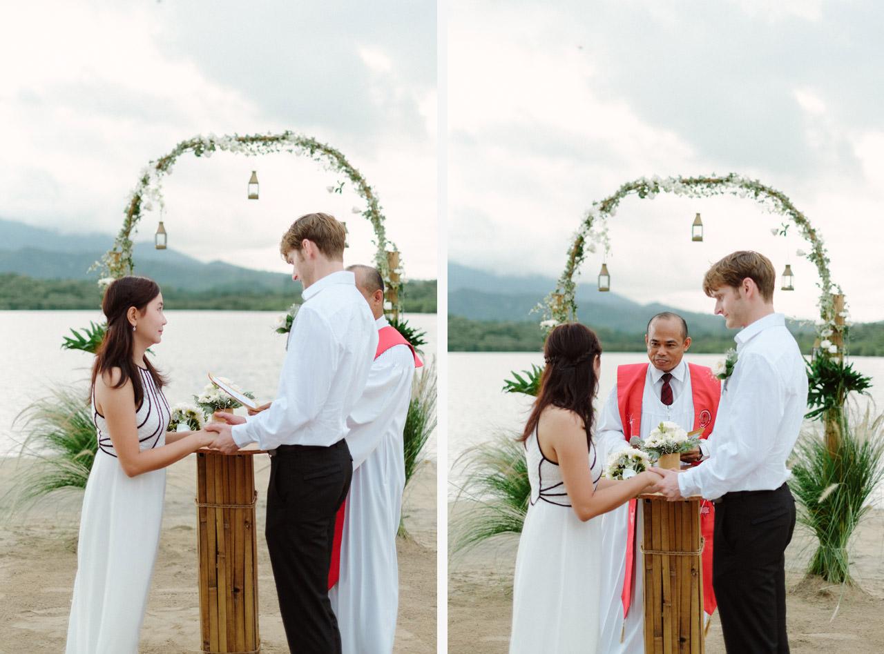 M&V: Sunset Beach Wedding Photography at The Menjangan Dynasty Resort 36