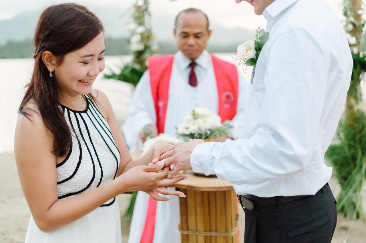 M&V: Sunset Beach Wedding Photography at The Menjangan Dynasty Resort 38
