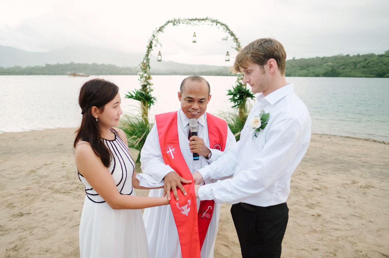 M&V: Sunset Beach Wedding Photography at The Menjangan Dynasty Resort 40