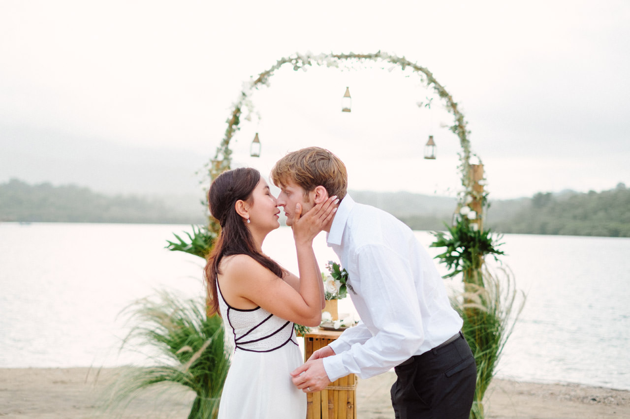 M&V: Sunset Beach Wedding Photography at The Menjangan Dynasty Resort 41