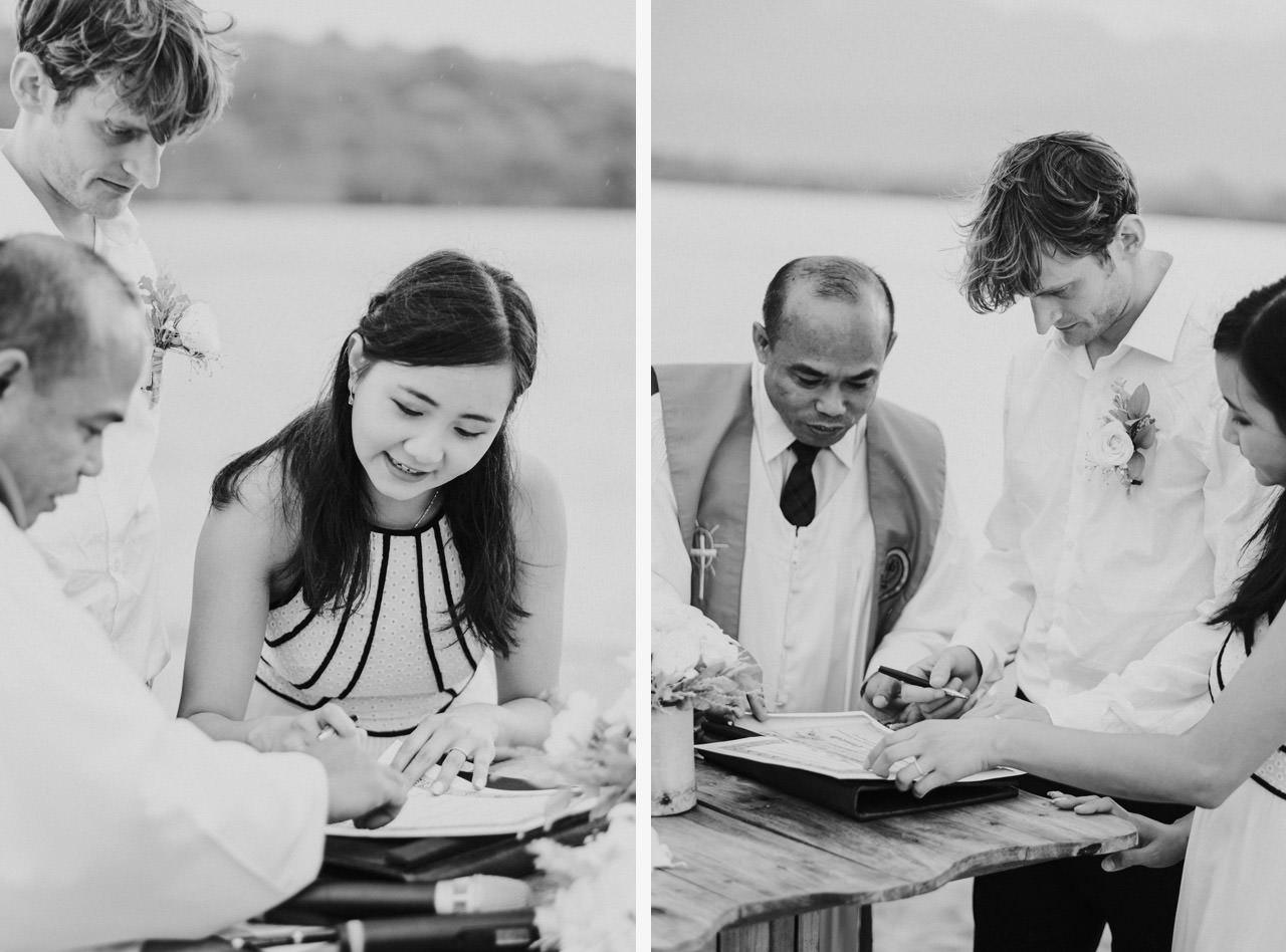 M&V: Sunset Beach Wedding Photography at The Menjangan Dynasty Resort 43