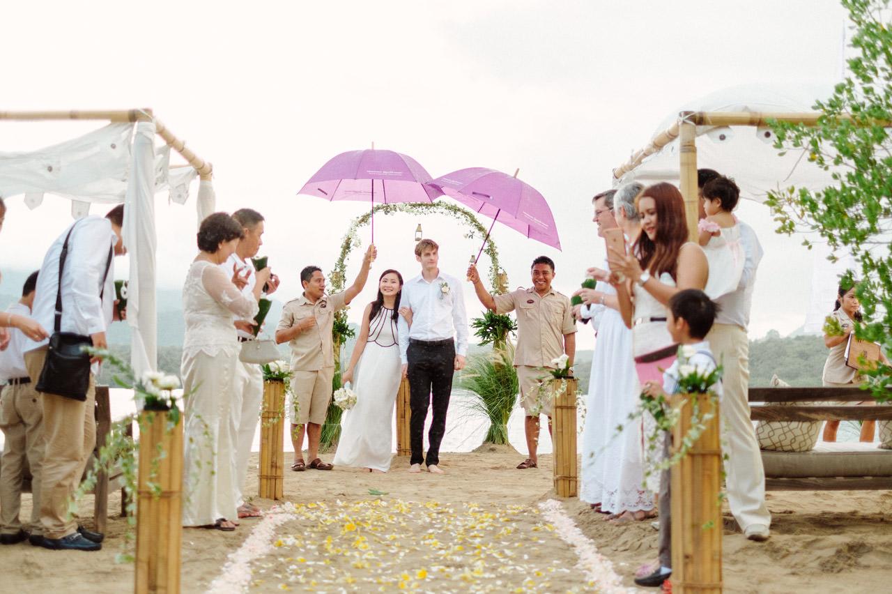M&V: Sunset Beach Wedding Photography at The Menjangan Dynasty Resort 44