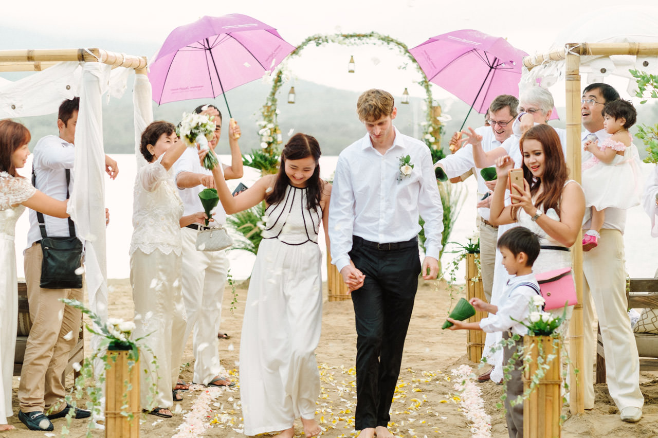 M&V: Sunset Beach Wedding Photography at The Menjangan Dynasty Resort 46