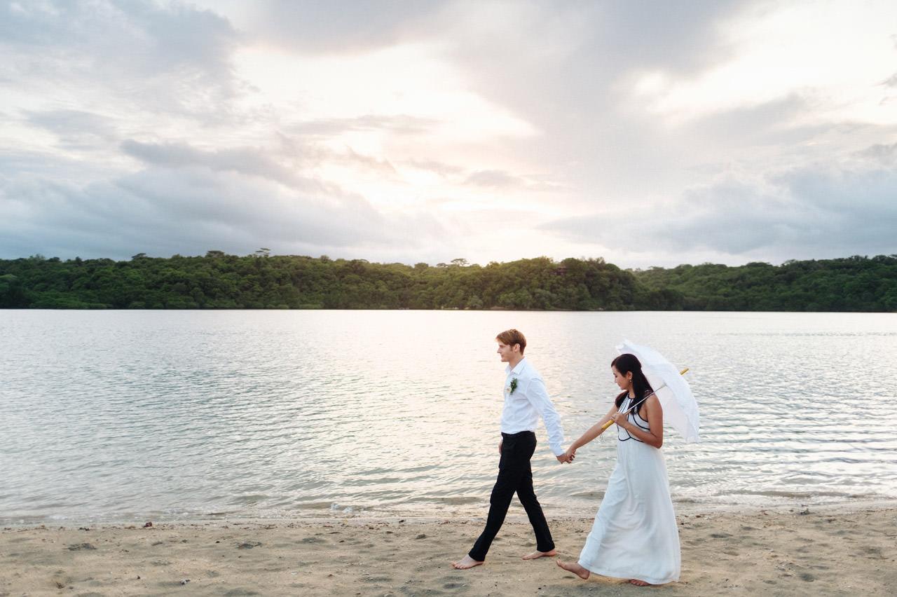 M&V: Sunset Beach Wedding Photography at The Menjangan Dynasty Resort 61
