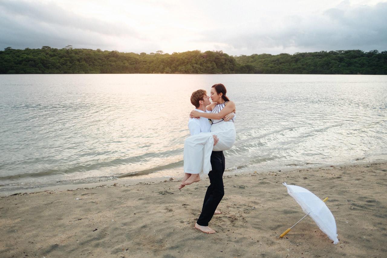 M&V: Sunset Beach Wedding Photography at The Menjangan Dynasty Resort 63
