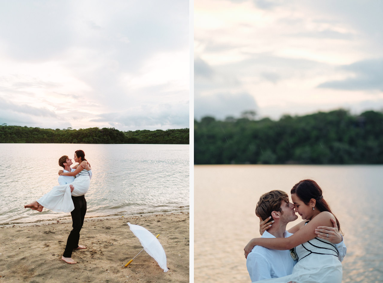 M&V: Sunset Beach Wedding Photography at The Menjangan Dynasty Resort 64