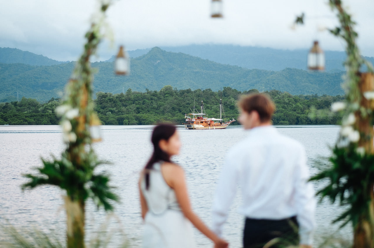 M&V: Sunset Beach Wedding Photography at The Menjangan Dynasty Resort 66