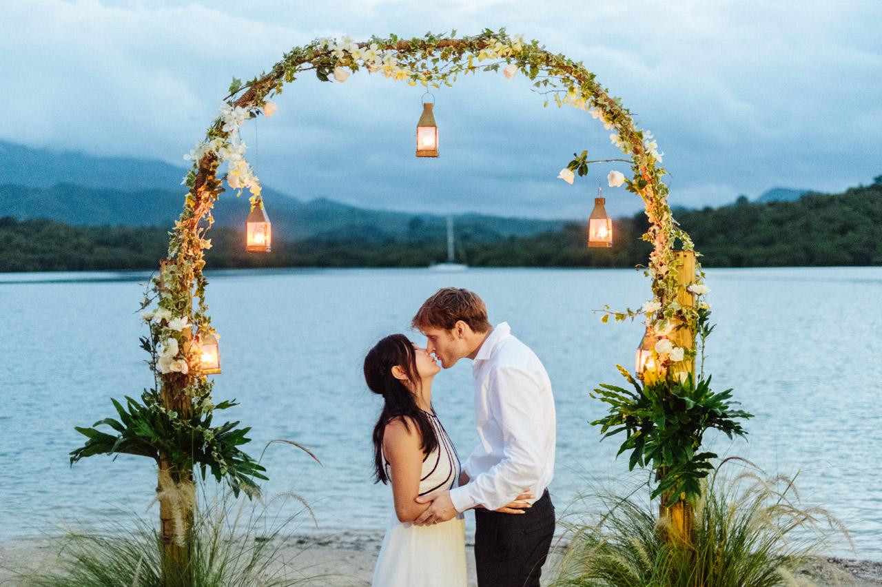 M&V: Sunset Beach Wedding Photography at The Menjangan Dynasty Resort 68