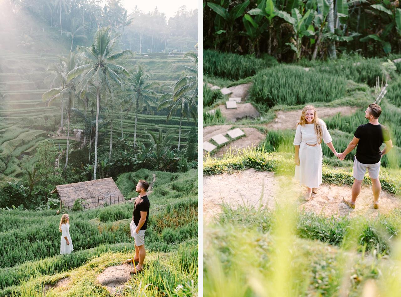 Natelee & Barry: Tegalalang Rice Terrace Honeymoon Photography 5