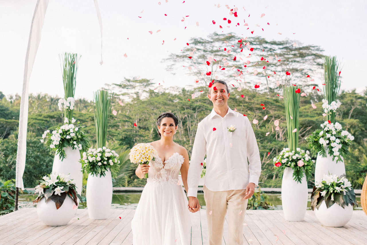Relax and Intimate Four Seasons Ubud Elopement 13