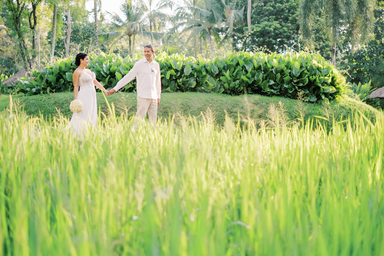Relax and Intimate Four Seasons Ubud Elopement 21