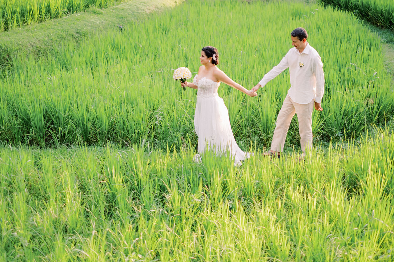 Relax and Intimate Four Seasons Ubud Elopement 24