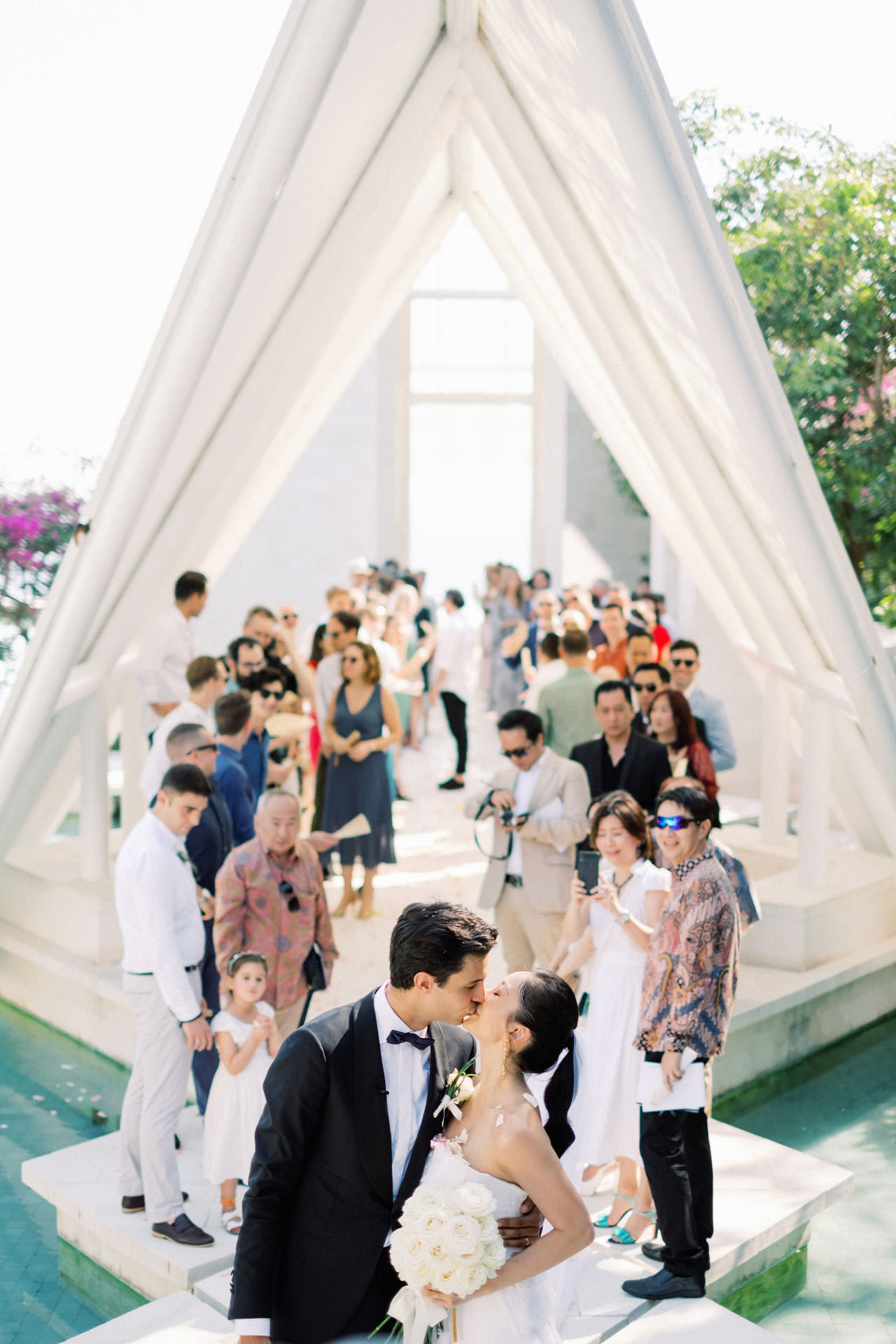Tirtha Uluwatu Wedding with Reception at The Glass House Bali 22