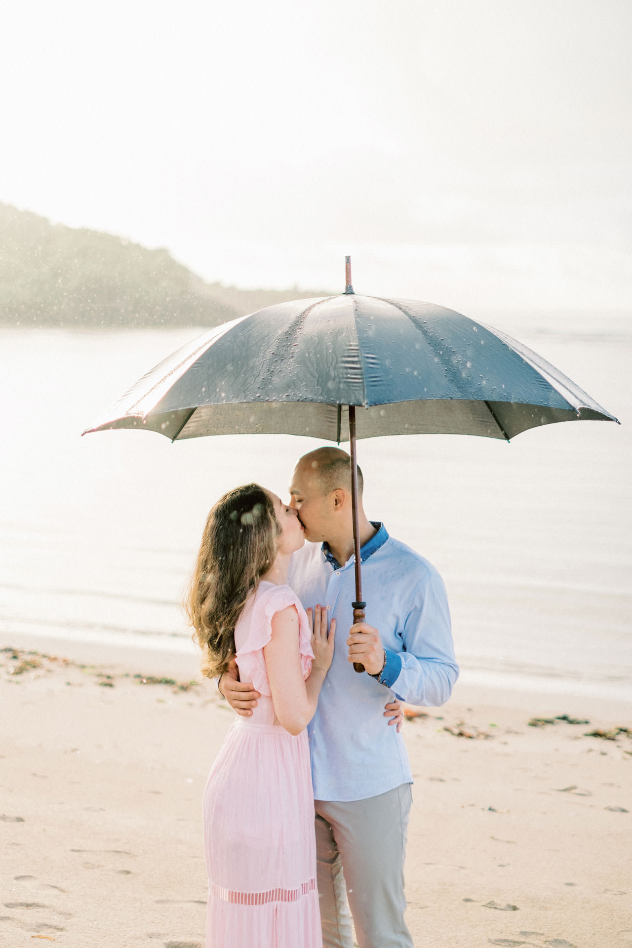 N&D: Sunrise Melasti Beach Bali Prewedding Photos 2