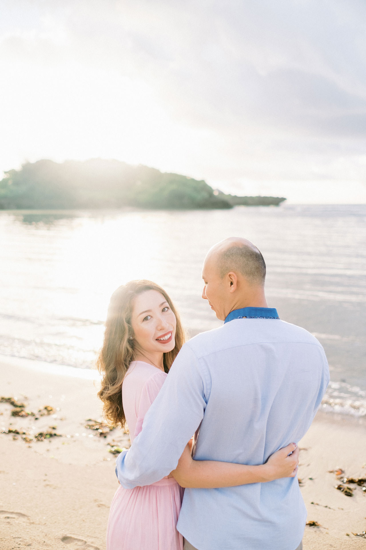 N&D: Sunrise Melasti Beach Bali Prewedding Photos 3