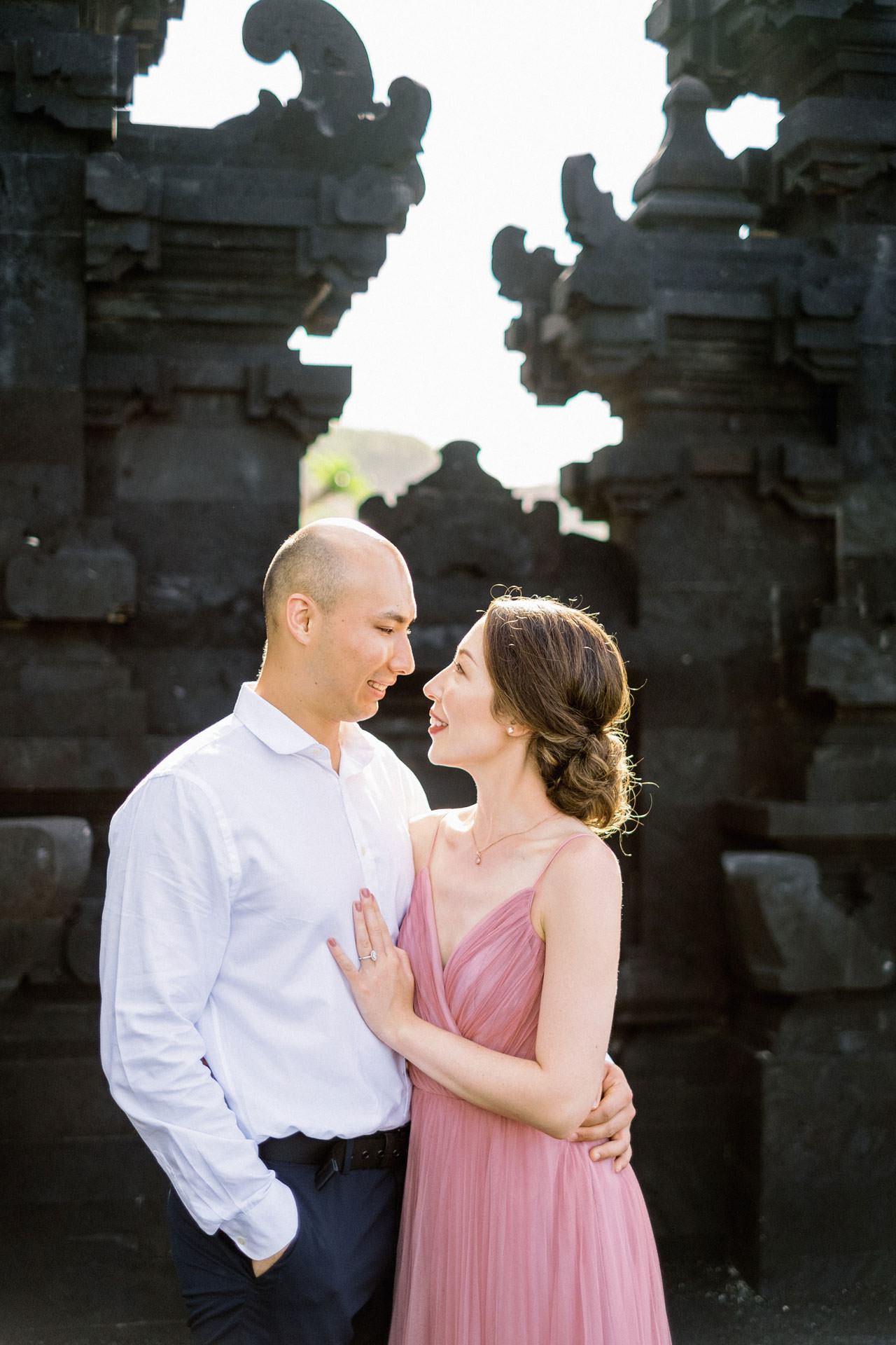 N&D: Sunrise Melasti Beach Bali Prewedding Photos 7