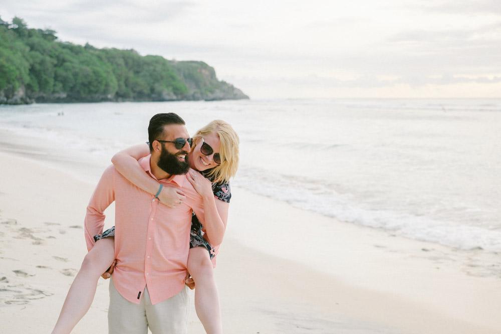 Nicole & Majd: Bali Sunset Honeymoon Photo 3