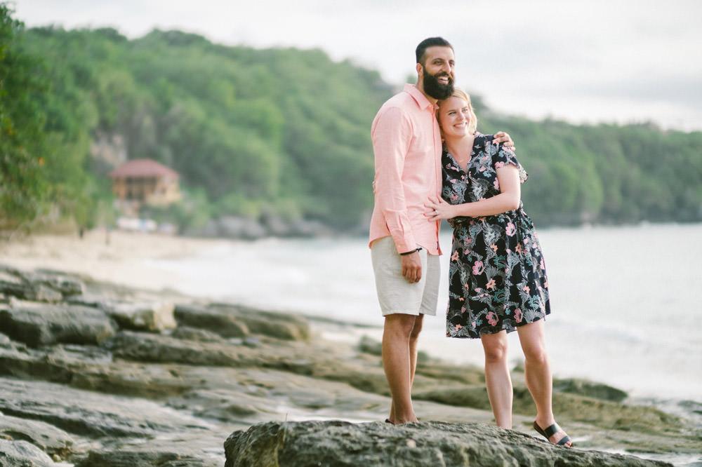 Nicole & Majd: Bali Sunset Honeymoon Photo 9