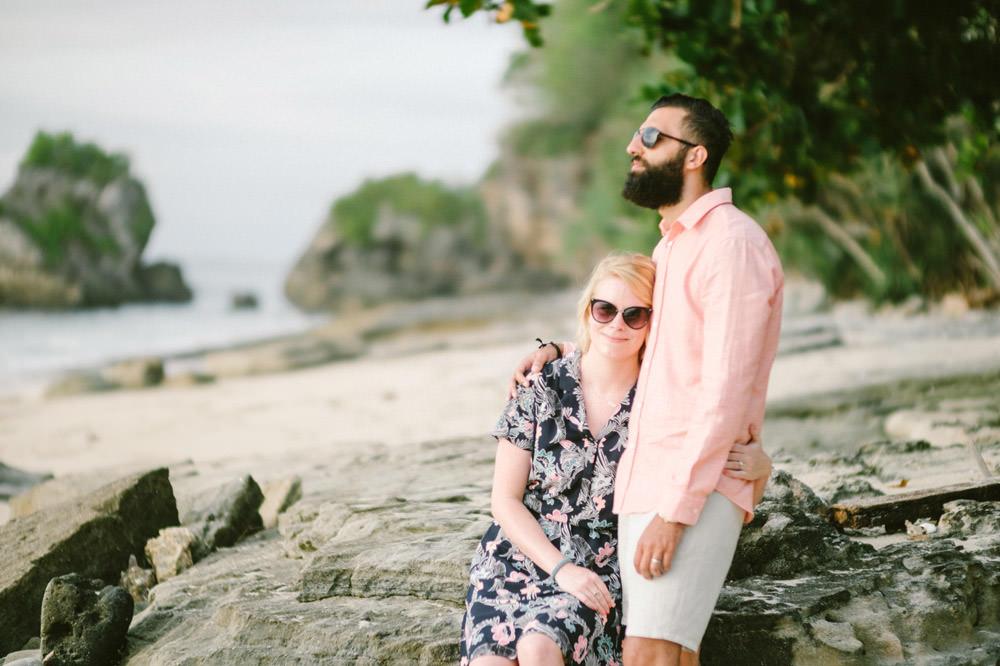 Nicole & Majd: Bali Sunset Honeymoon Photo 10