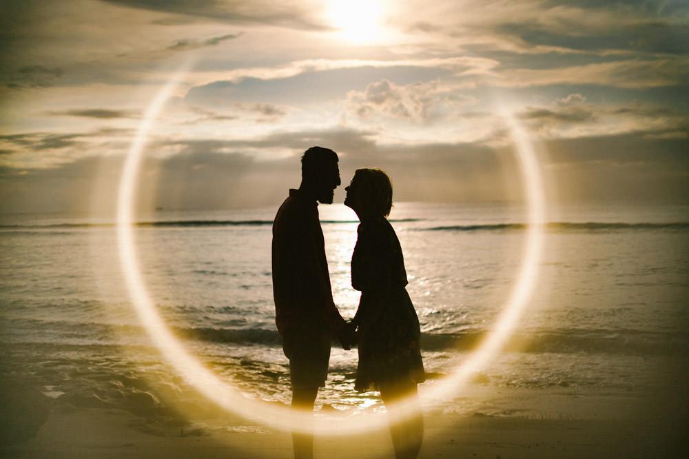 Nicole & Majd: Bali Sunset Honeymoon Photo 11