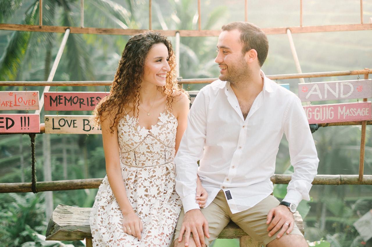 Nazli & Orhan: Honeymoon Photography in Ubud Bali 2