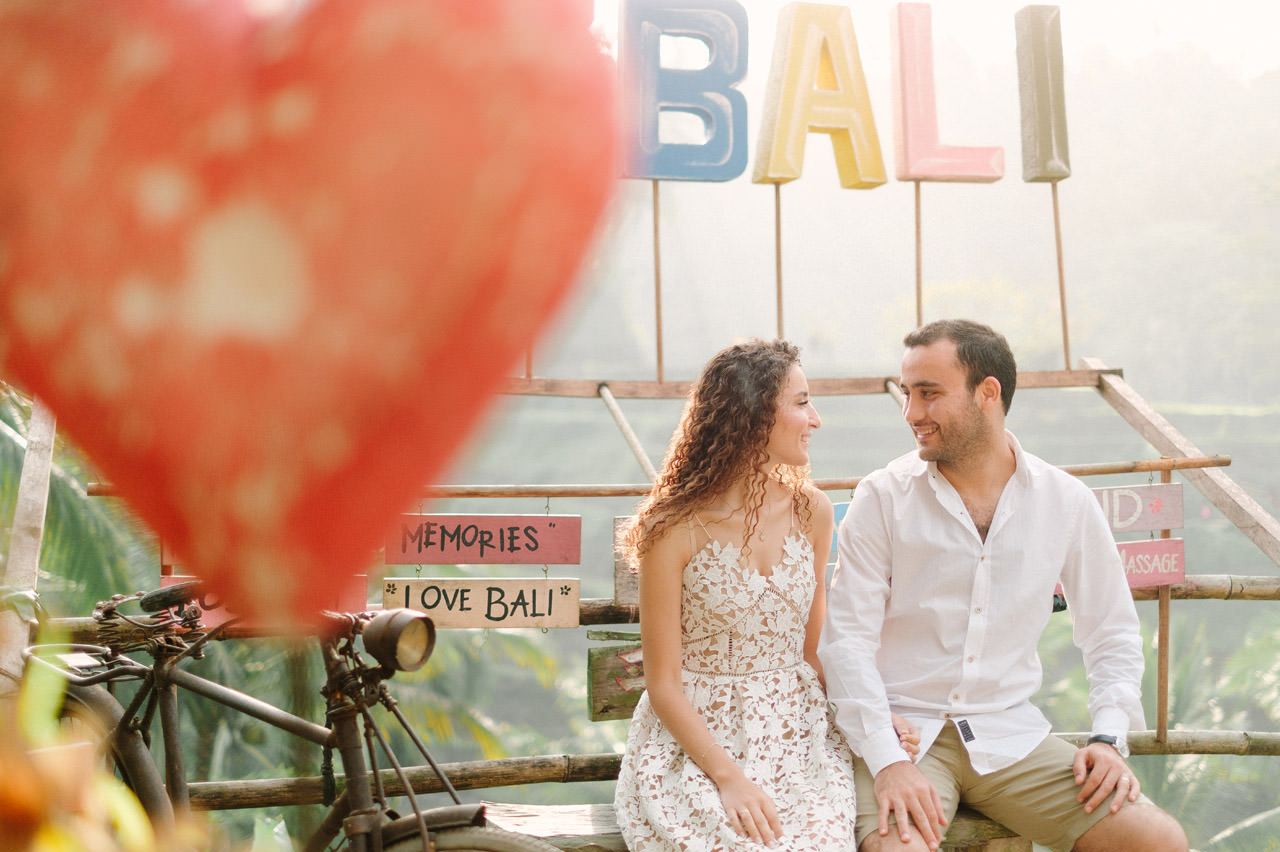 Nazli & Orhan: Honeymoon Photography in Ubud Bali 3