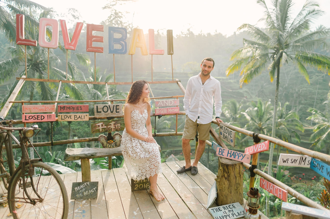 Nazli & Orhan: Honeymoon Photography in Ubud Bali 4