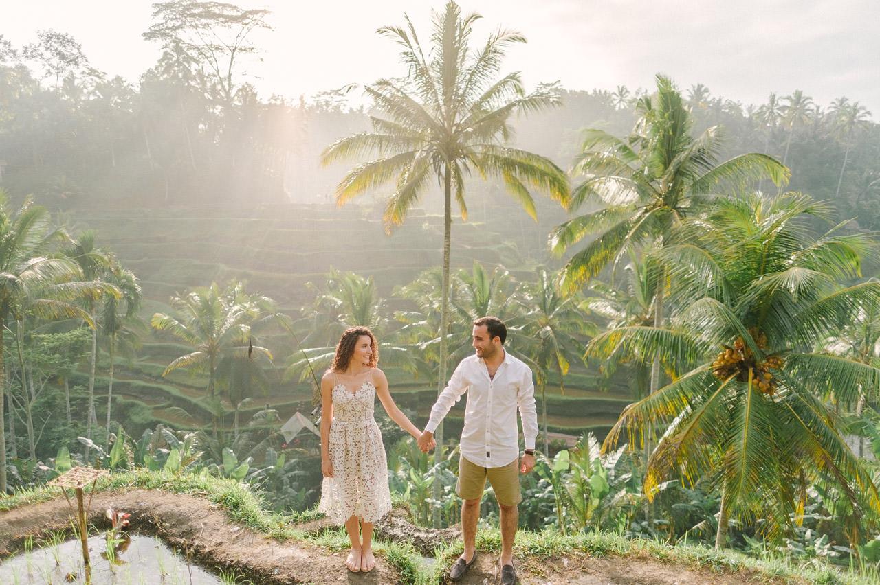 Nazli & Orhan: Honeymoon Photography in Ubud Bali 5