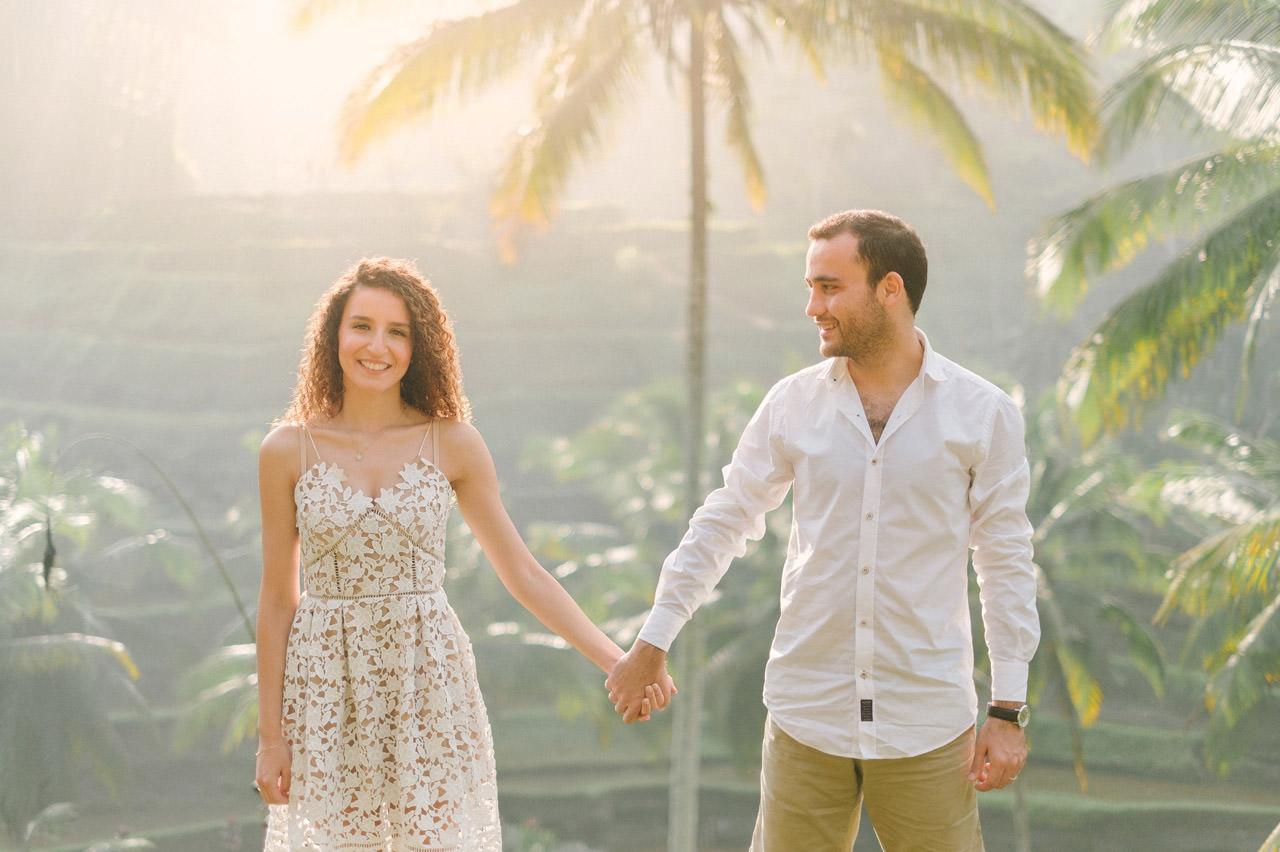 Nazli & Orhan: Honeymoon Photography in Ubud Bali 6