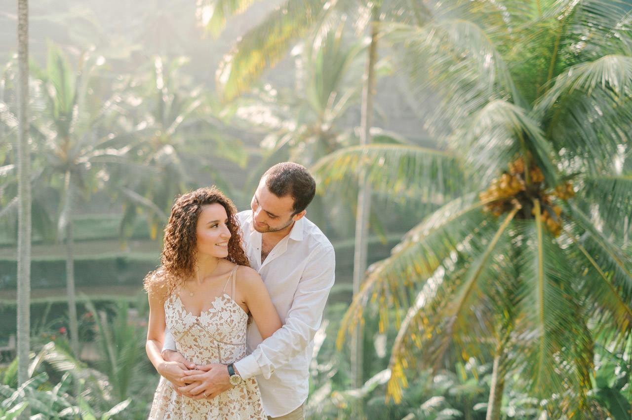 Nazli & Orhan: Honeymoon Photography in Ubud Bali 8