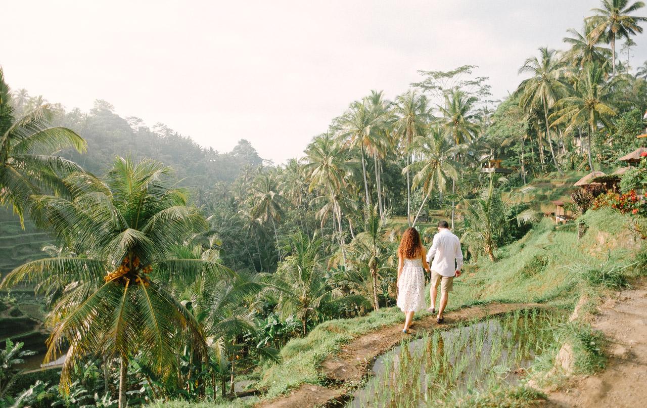 Nazli & Orhan: Honeymoon Photography in Ubud Bali 13